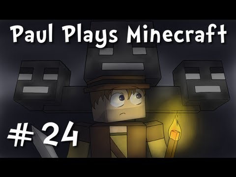 "Paul Plays Minecraft – E24 ""Mouse Poop Maraca"" (REUPLOAD!)"