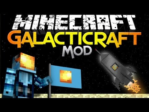 Minecraft Mod Showcase: Galacticraft – Launch to the Moon in Minecraft!