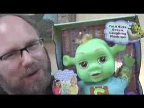 Shrek Laughing BABY Cute FUNNY Toy Review Mike Mozart Babies