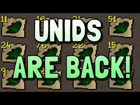 Unids are Back! – Runescape 2007 – Progress Video #1