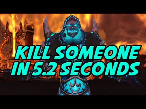 How To Kill Someone in Under 5.2 Seconds Tutorial by Cartoonz (World of Warcraft PvP)