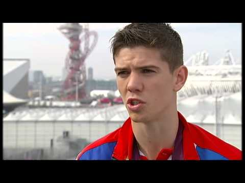 Luke Campbell of Team GB talks after winning boxing gold at London 2012