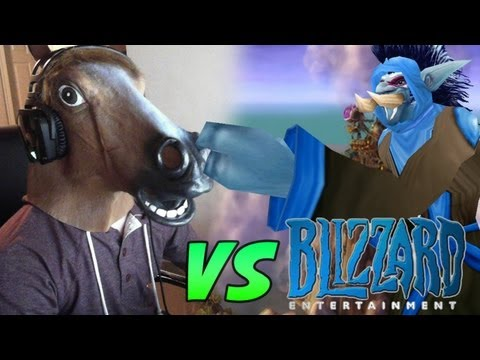 Blizzard World of Warcraft Developers OWNED by Cartoonz in Horse Mode