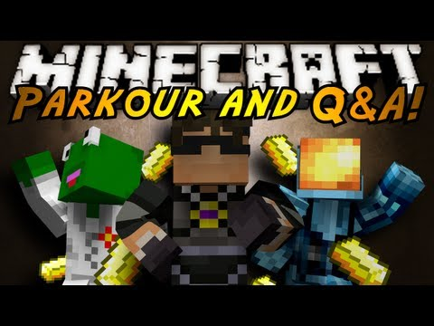 Minecraft: Hop Hop Sprint! (Question and Answers!)