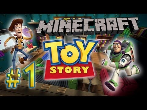 Minecraft: A Toy Story w/Mitch& Friends Part 1 – Let The Adventure Begin :)