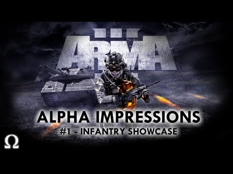 """Ohm's """"ArmA 3"""" Alpha Quick Look #1 – Infantry Showcase – PC / Steam"""