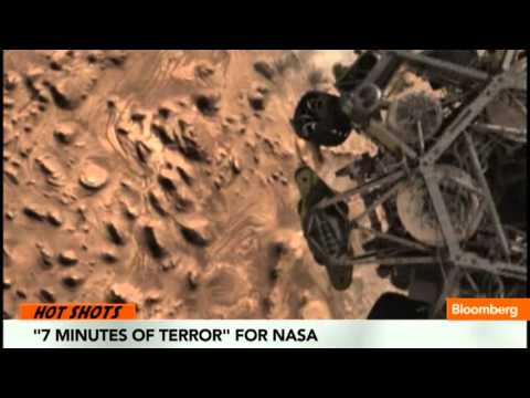 NASA Celebrates `Curiosity' Landing on Mars