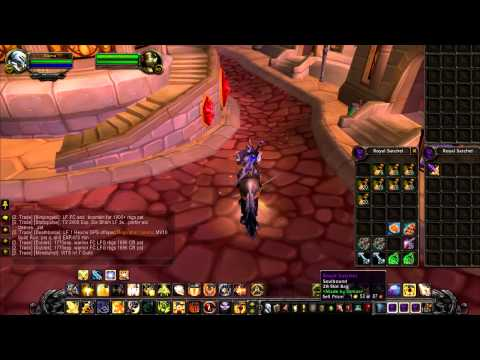 How i Made 100k Gold in World of Warcraft 5.2.0