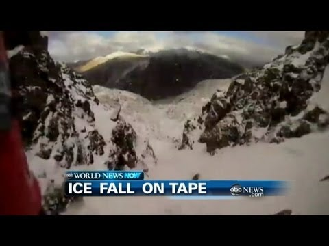 WEBCAST: Ice Fall On Tape