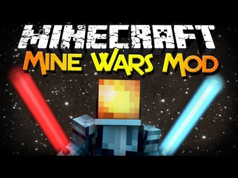 Minecraft Mod Showcase: Mine Wars – Lightsabers, Mobs, Butter, and MORE!