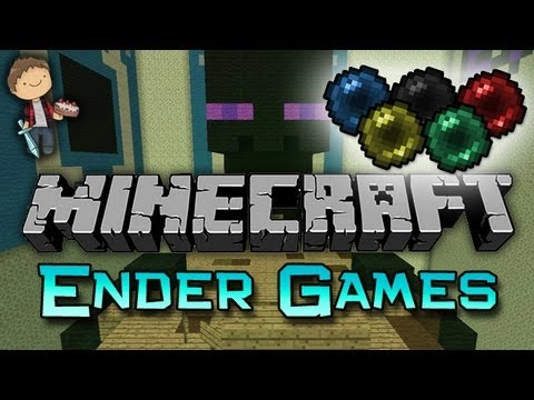 Minecraft: Ender Games Parkour w/Mitch, Jerome & Husky!