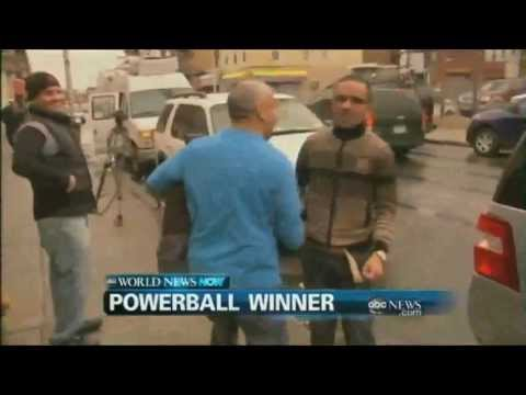 WEBCAST: Powerball Winner