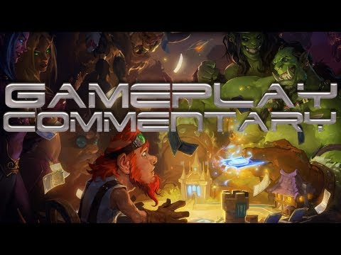 Hearthstone: Heroes of Warcraft Duel Gameplay commentary PAX East (1080p)