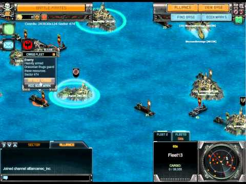 Battlepirates How to kill a lvl 31 cargo fleet at low level.