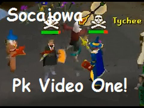 "Socajowa Pk Video 1 ""Runescape 2007"" Hybriding Easts Rune Rocks Edge Pking"