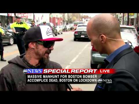 Boston Bombing Manhunt: Mechanic '150 Percent Sure' Suspect Was in Shop After Bombing