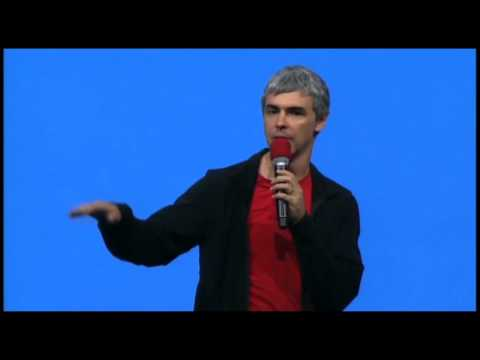 Google's Larry Page: I Can Run Company on Phone