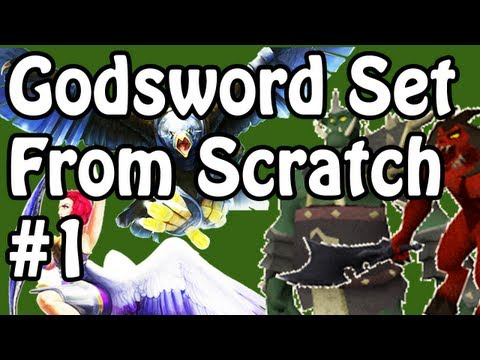 Godsword Set From Scratch – RuneScape 'From Scratch' Series – The Godsword Set Challenge – Ep. 01