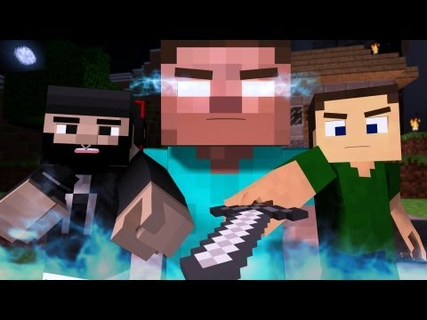 """""""The Miner"""" – A Minecraft Parody of The Fighter by Gym Class Heroes (Music Video)"""