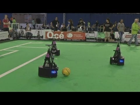 Robocup: The robot football world championship gets underway in the Netherlands