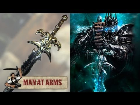 The Lich King's Frostmourne (World of Warcraft) – MAN AT ARMS