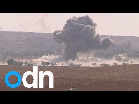 Kobani air strikes: US target Islamic State fighters in Syria