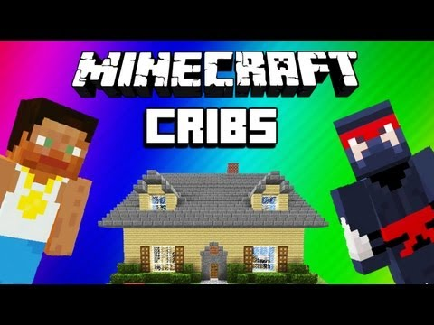 Minecraft Funny Moments – Cribs w/ H2O Delirious, Giant Dick, Racist Fridge (EPIC Noob Adventures)