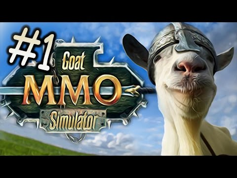 GOAT MMO // MICROWAVE GOAT?! – Goat Simulator – Part 1
