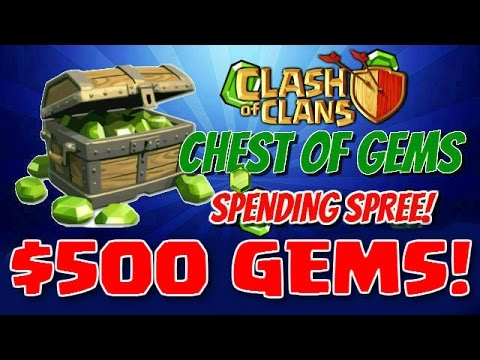 $500 GEM SPREE! | 100,000 Subscriber Special | Clash Of Clans | Maxing Town Hall 9!