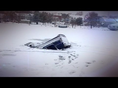 How To Survive a Car Crash Through Ice