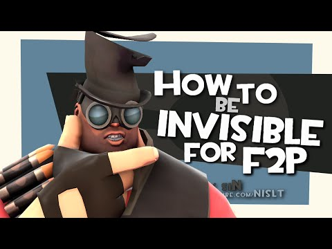 TF2: How to be invisible for F2P [FUN]
