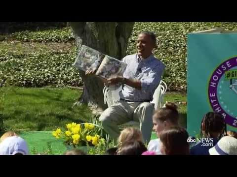 Adorable Moment When President Obama Got Interrupted by Bees