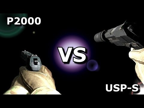 CS:GO –  P2000 VS USP-S