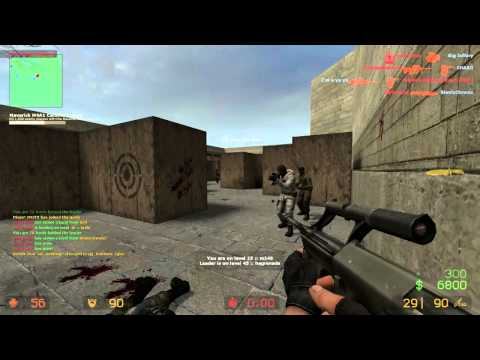 Counter Strike Source Gun Game JULY part 1