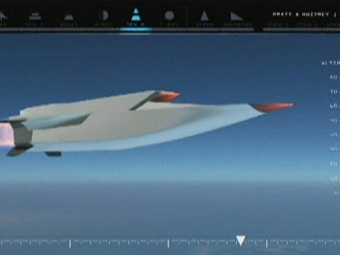 X-51A Waverider: Hypersonic jet plane tested