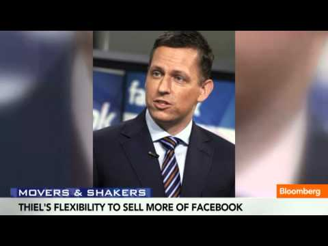 Peter Thiel Gets More Flexibility to Sell Facebook