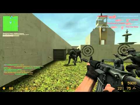 Counter Strike Source Gun Game JULY part 6