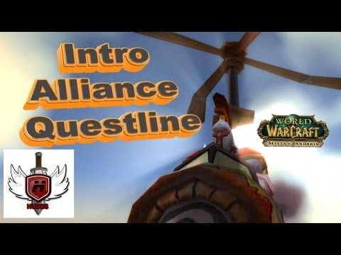 Alliance Mists of Pandaria Intro Quest Line – WOWHOBBS – World of Warcraft (gameplay/commentary)