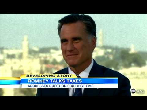 Mitt Romney Taxes: White House Demands GOP Nominee 'Prove' Tax Rate Claim