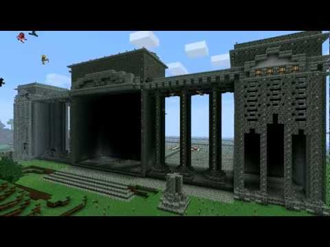 Minecraft Timelapse – Huge Train Station