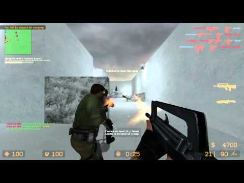 Counter Strike Source Gun game with Sp00n ep 1