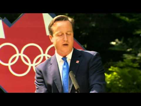 David Cameron assesses the London 2012 Olympics in his end-of-Games speech