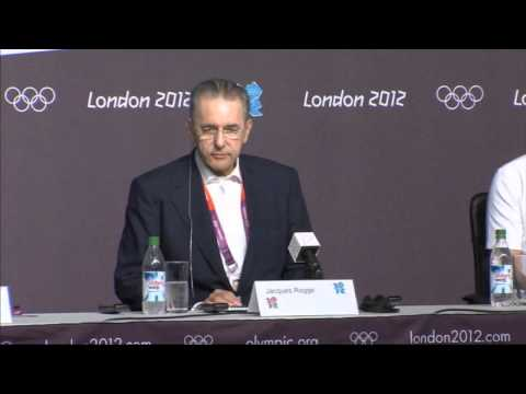 Jacques Rogge and Seb Coe give their verdict on London 2012 Olympic Games