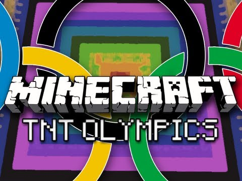 Minecraft: TNT Olympics w/ CaptainSparklez & Friends Part 2 – Vault, Balance Beam, Trap Shooting