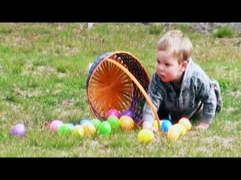 "Funny Videos – Easter Egg Hunt Gone Wrong ""The Great Egg Scape"""