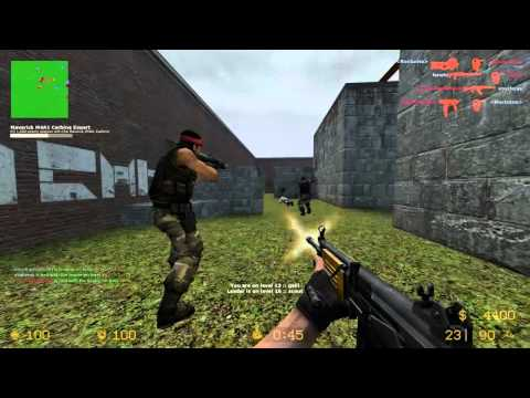 Counter Strike Source Gun game with Sp00n ep 3