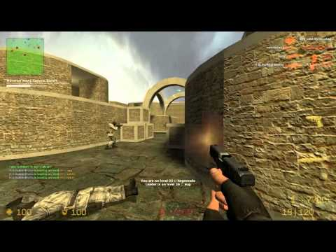 Counter Strike Source Gun game with Sp00n ep 4