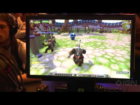 World of Warcraft: Mists of Pandaria Punching Bag Training – Gamescom 2012
