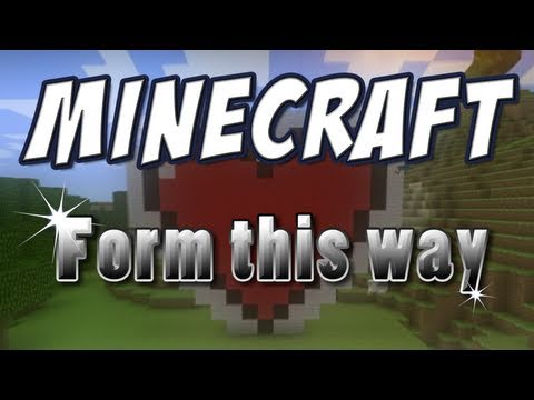 Minecraft – ♪ Form This Way (Minecraft Parody of Lady Gaga's Born This Way)