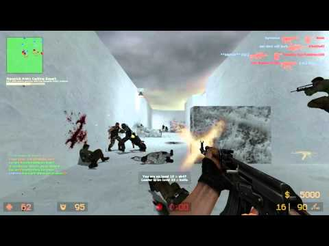 Counter Strike Source Gun game with Sp00n ep 5